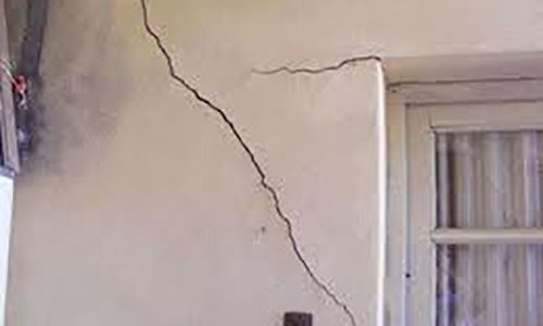 How to repair cracks and fissures on the walls?
